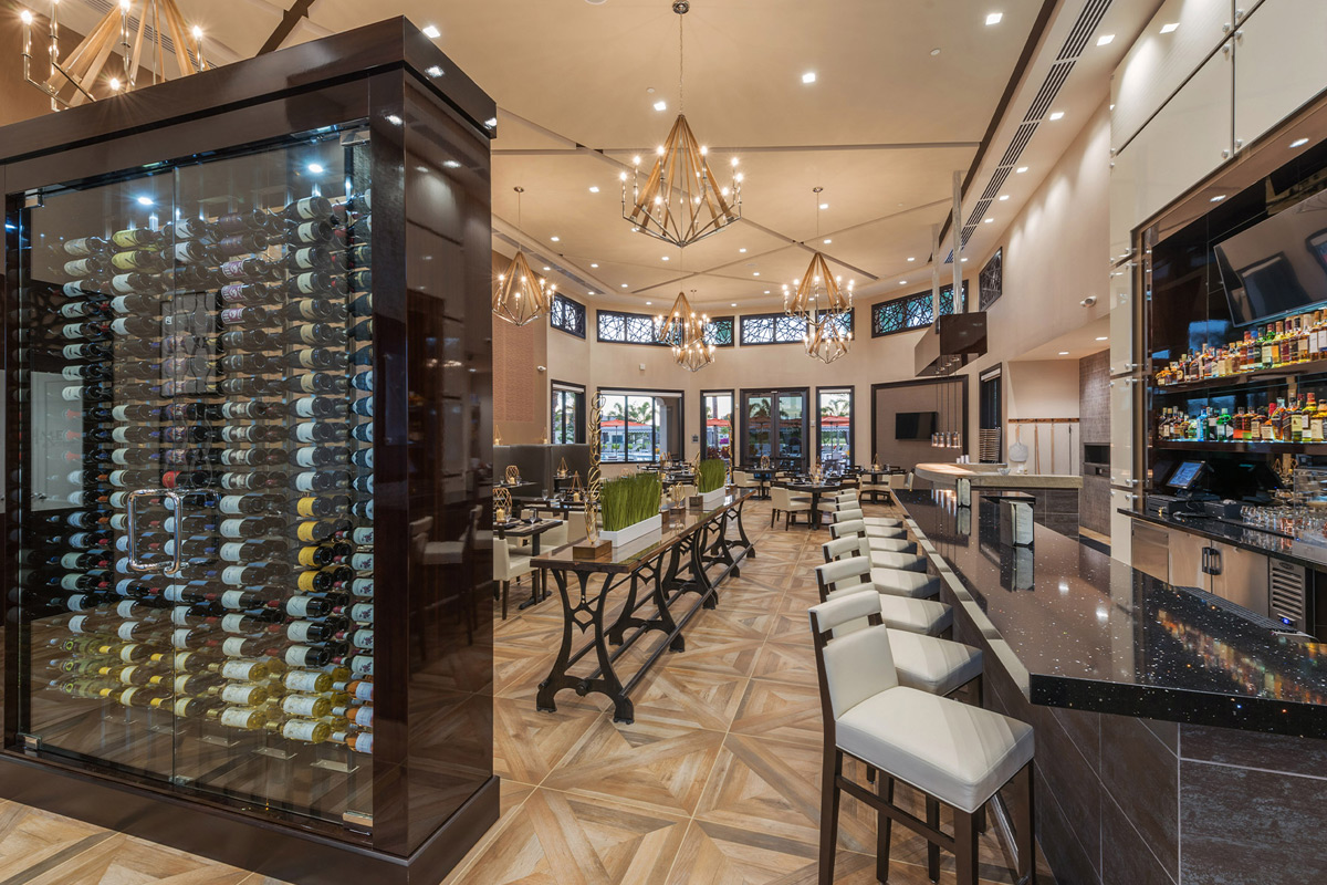 Seven Bridges Delray Beach Florida Clubhouse Restaurant