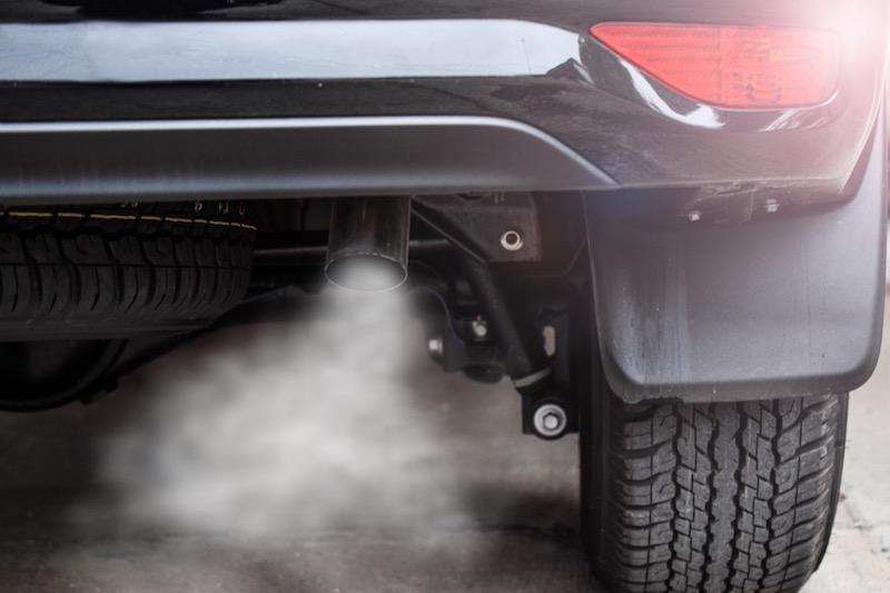 Car Causing Carbon Monoxide