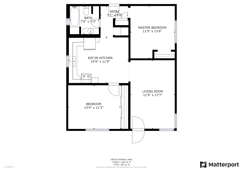 515 S. Columbus Ave, Medford, OR - Floor Plan