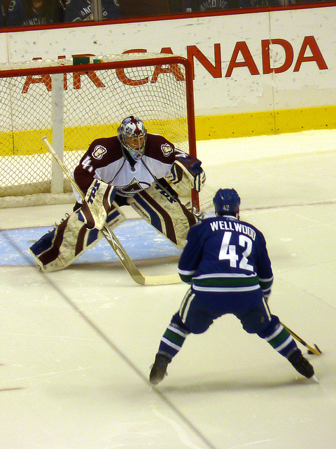 Hockey Shootout - Image Credit: https://www.flickr.com/photos/mafue/4568627908