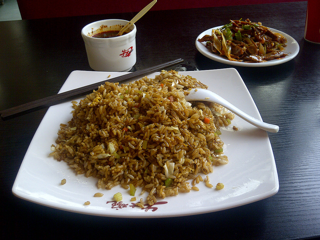 Chinese Food - Image Credit: https://www.flickr.com/photos/bfishadow/5529011642