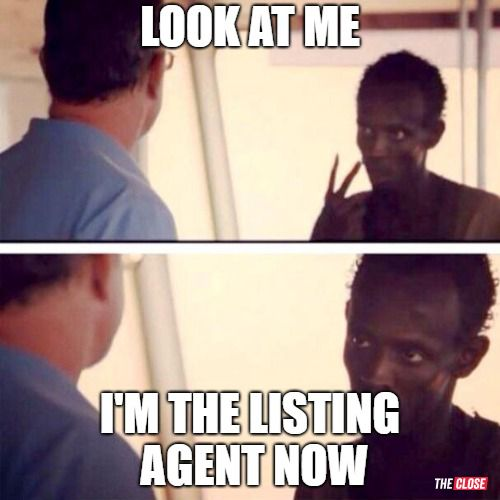 Im the Listing Agent Now
