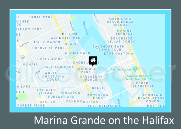 Map of Marina Grande on the Halifax