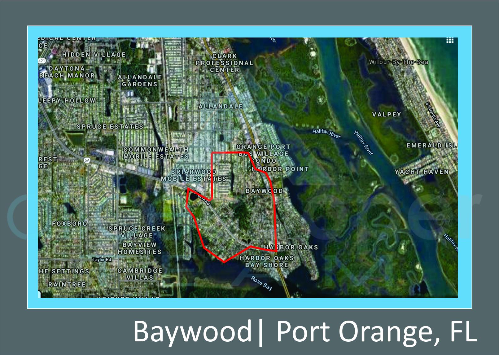 Map of Baywood Port Orange, FL