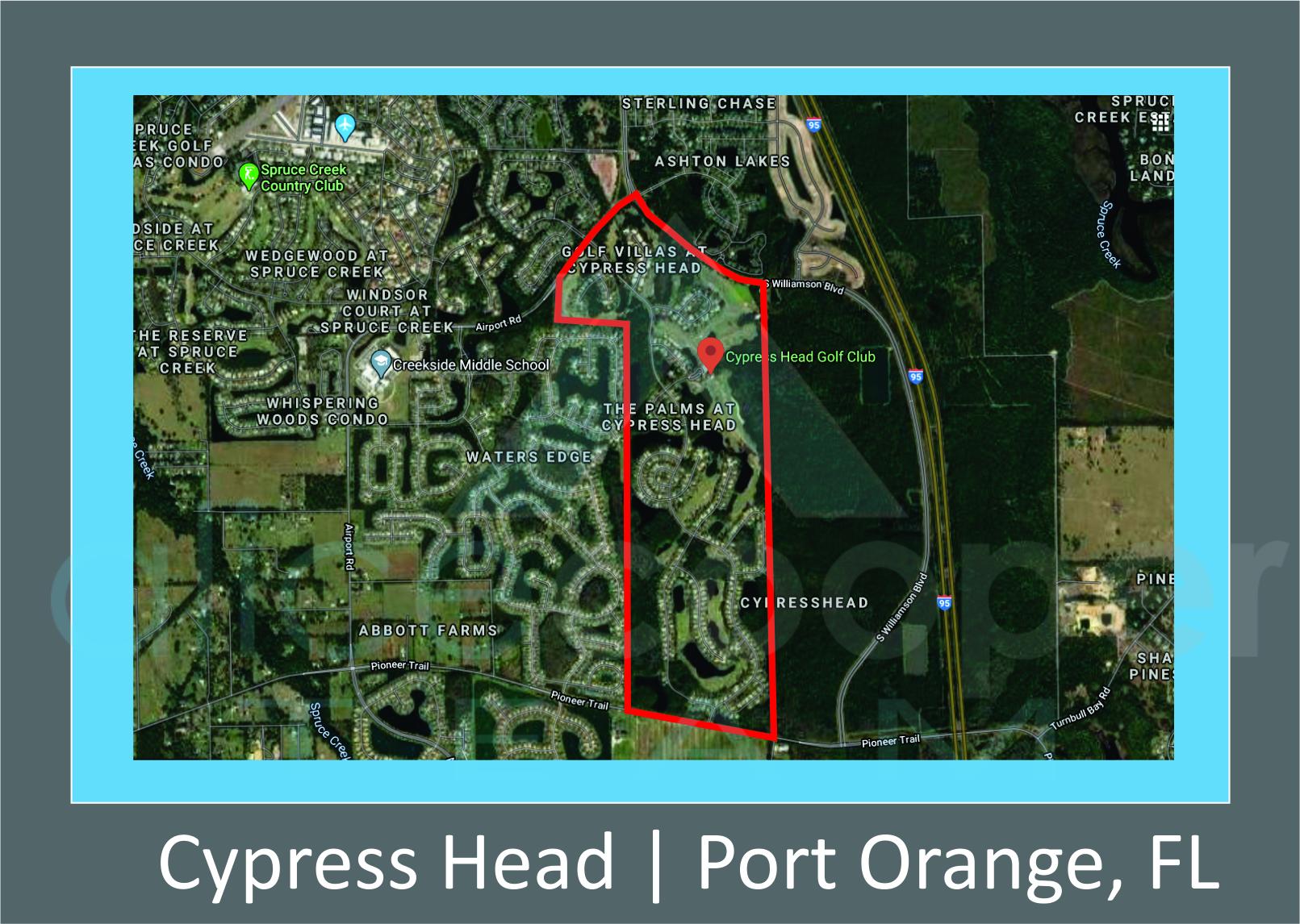 Map of Cypress Head, Port Orange, FL