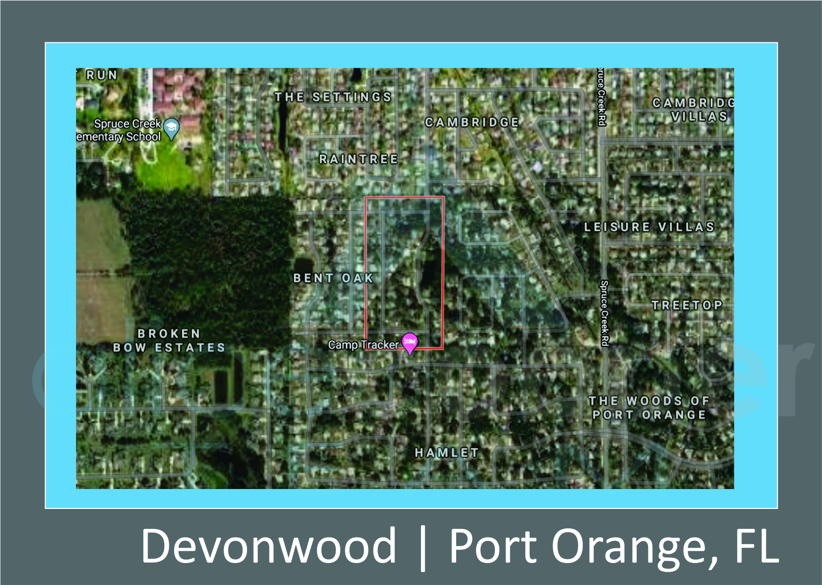 Map of Devonwood Port Orange, FL