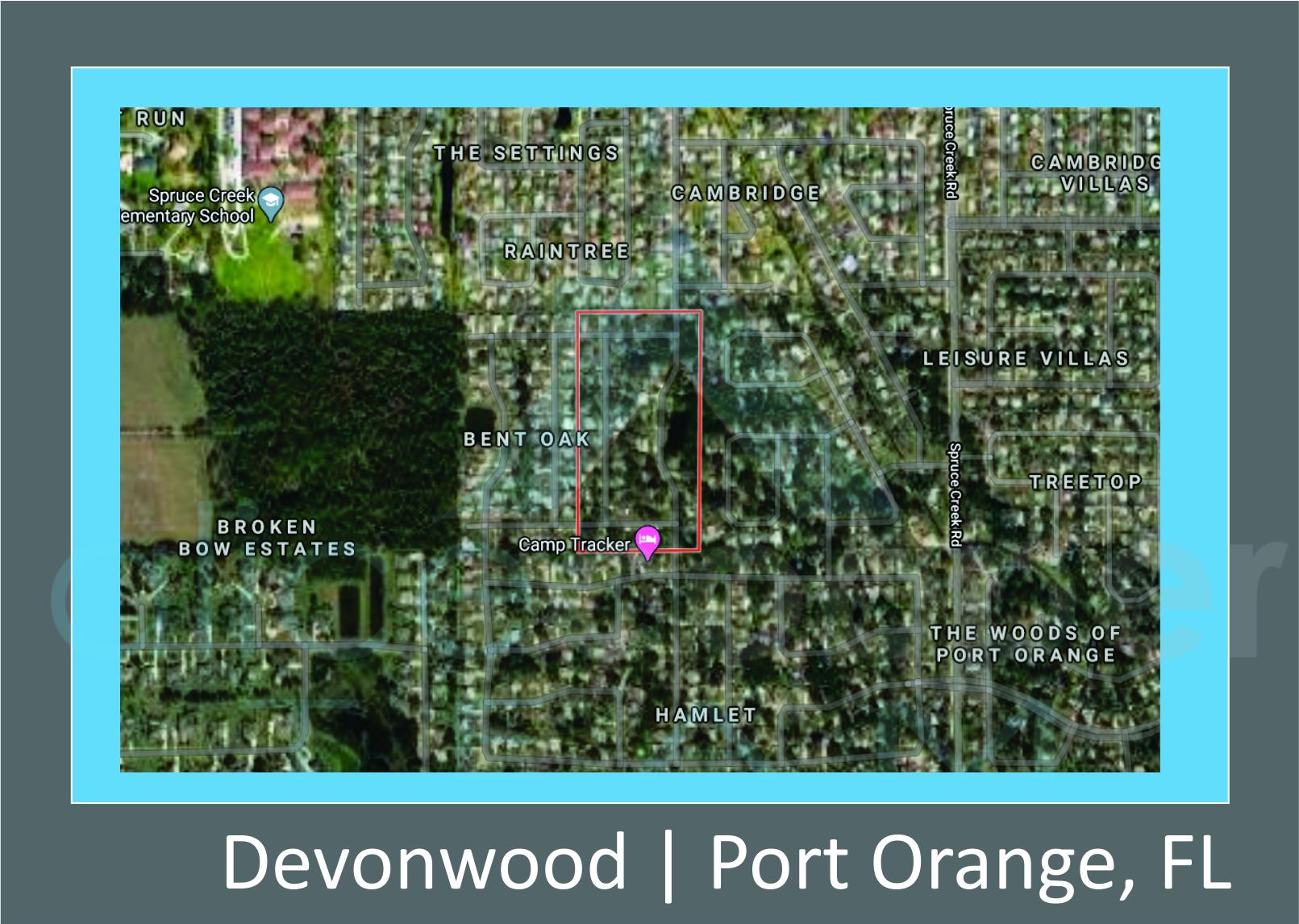 Map of Devonwood Port Orange, FL