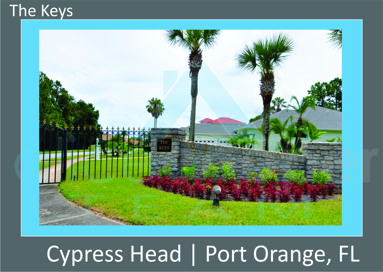 Cypress Head The Keys Neighborhood Entrance