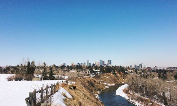 River Park in Calgary AB