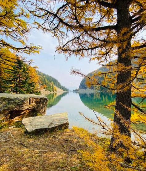 The Lake Agnes hike in Lake Louise, Alberta