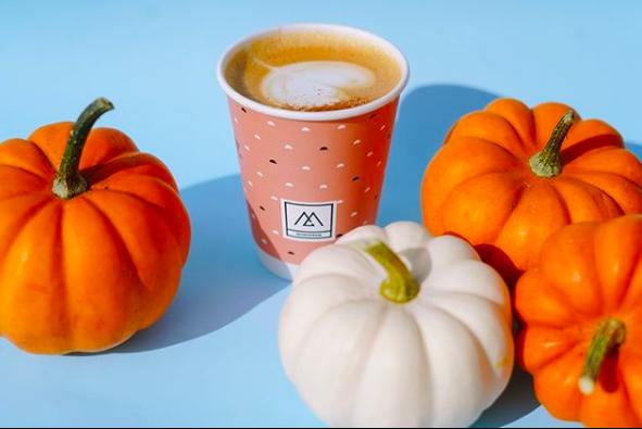 Pumpkin Spice Latte from Monogram Coffee in Calgary, Alberta