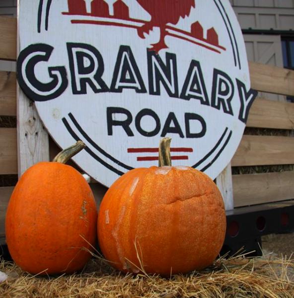 Granary Road pumpkin fest in Calgary, AB