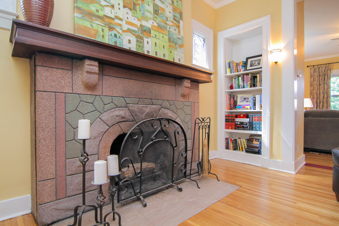 1711 Harvard Drive Louisville, KY Fireplace