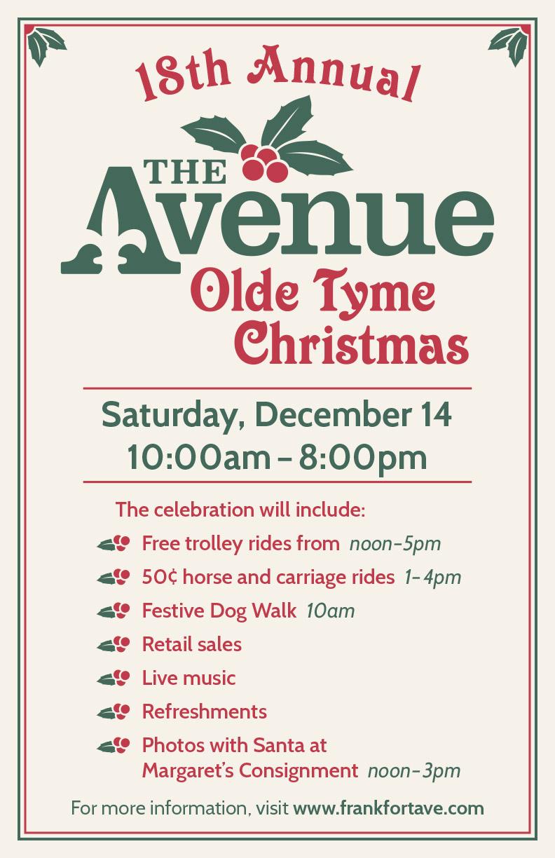 18th Annual Olde Tyme Christmas Celebration
