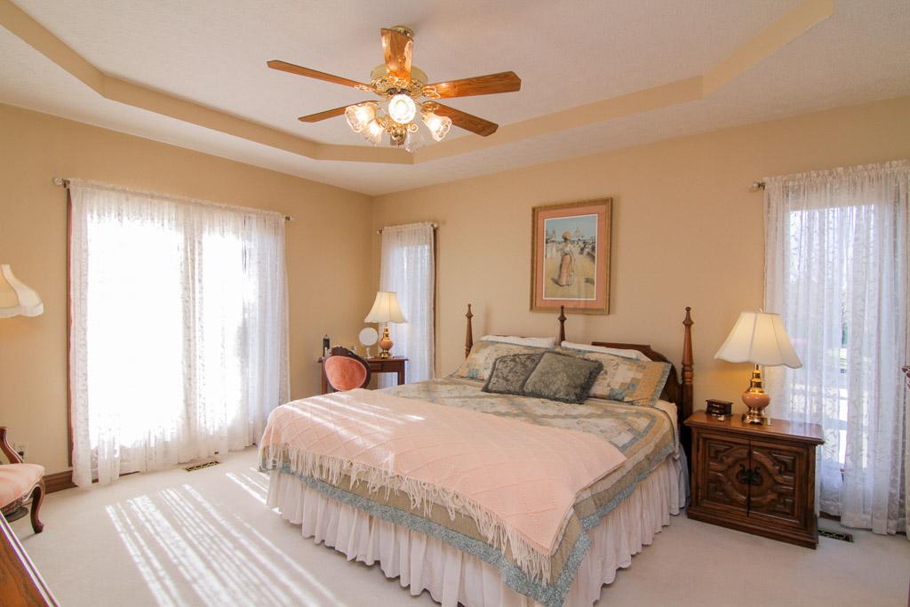 3369 Yoder Tipton Road Taylorsville, KY 40071 Master Bedroom