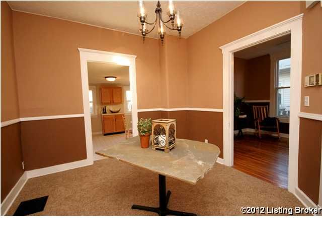 925 E Oak St Louisville, KY 40203 Dining Room