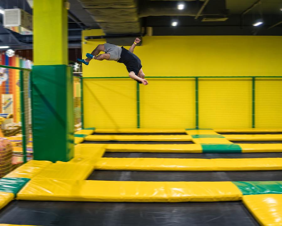 Altitude Trampoline Park Toddler Jump