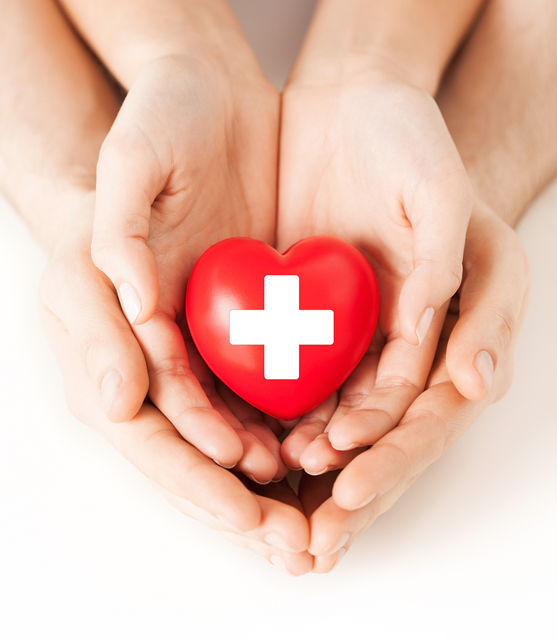 American Red Cross Heart