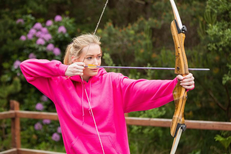 Archery at Tom Sawyer