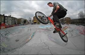 BMX Bike Stunts