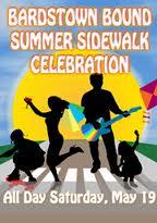 Bardstown Bound Summer Sidewalk Celebration in Louisville