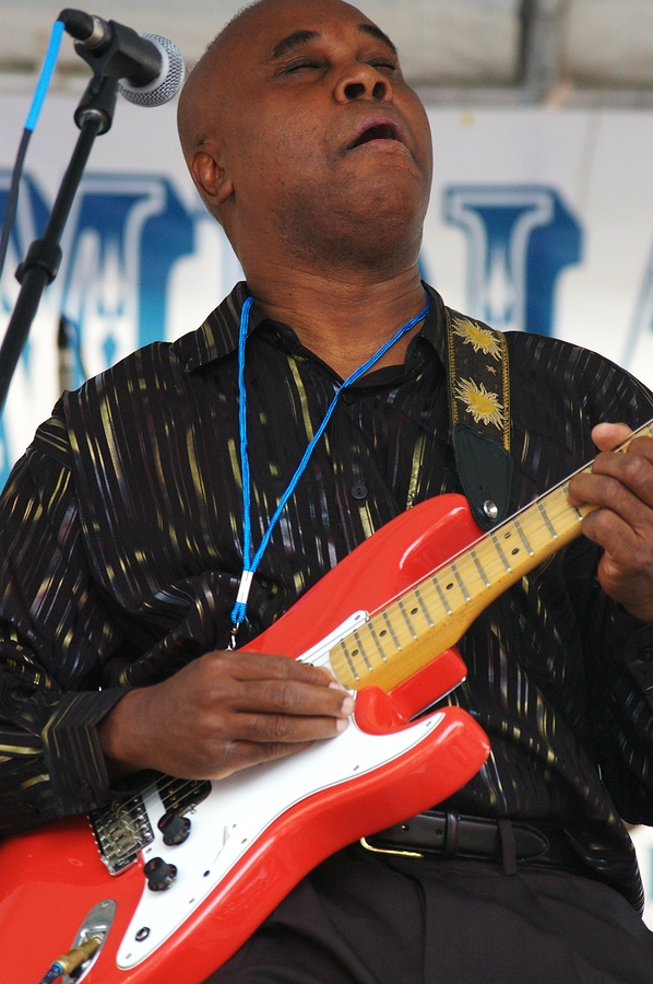 Blues Guitar Player