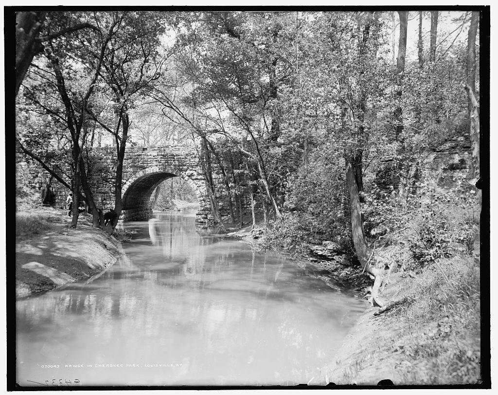 Bridge in Cherokee Park