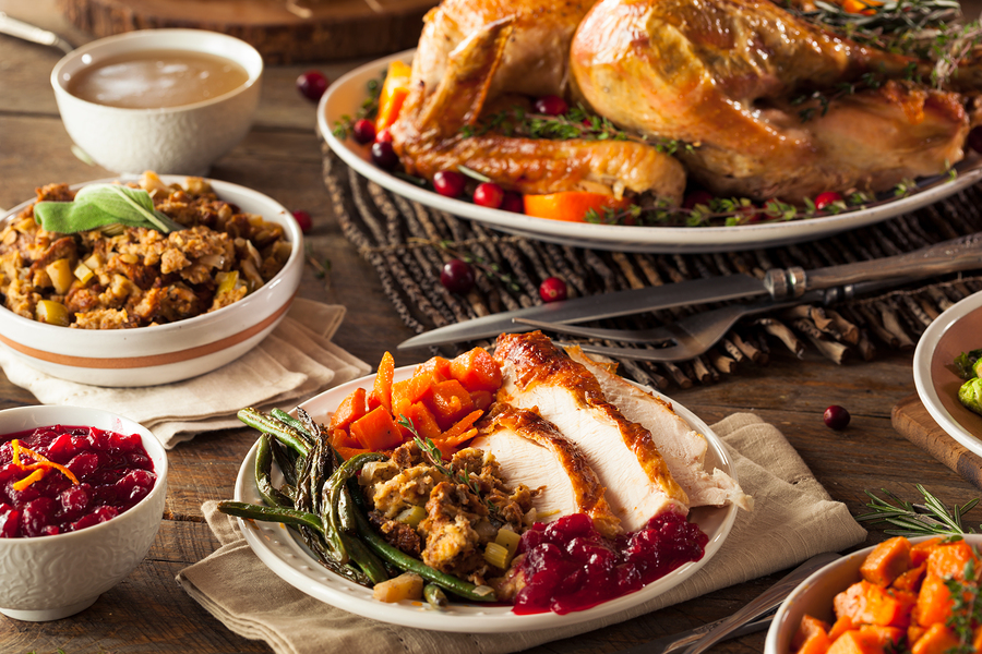Bristol Bar and Grille Thanksgiving Dinner