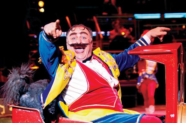 Circus Performers Kosair Shriner Circus