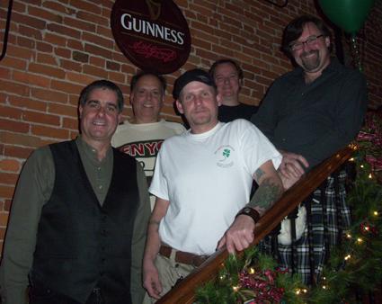 Dulahan Band at the Louisville Irish Fest