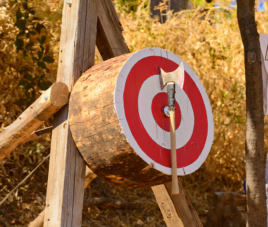 "E.P. ""Tom"" Sawyer State Park Axe Throwing"