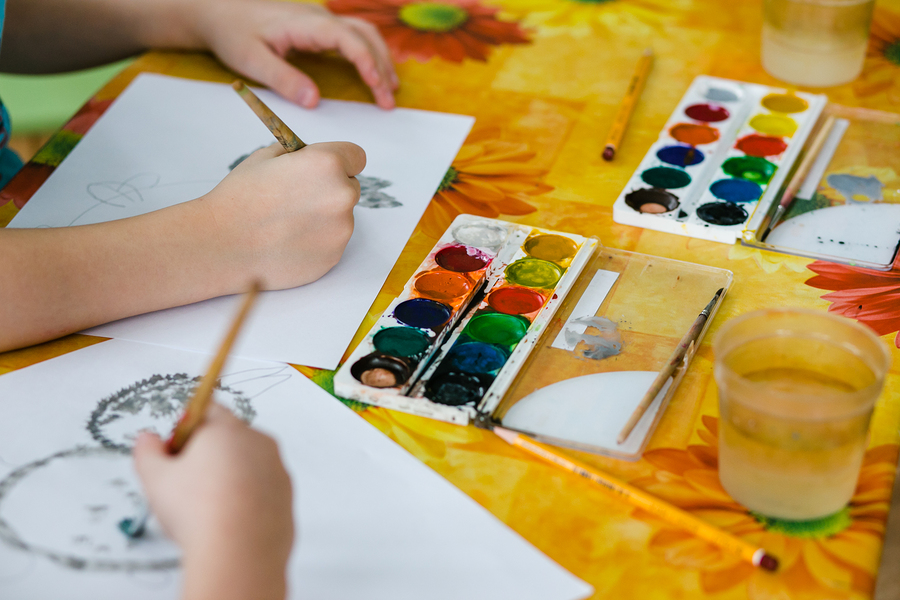 Family Art Class at Cailin Art Studio