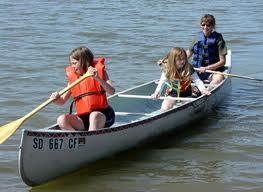 Family Canoe Day at Wallace Lake