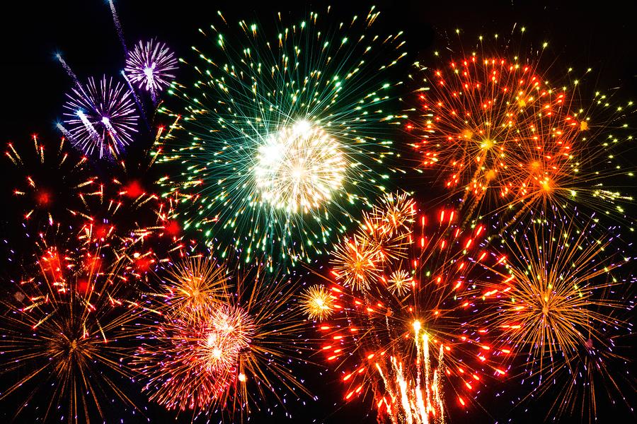 Fireworks at Iroquois Park