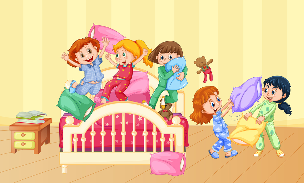 Friday Night Slumber Party at All About Kids