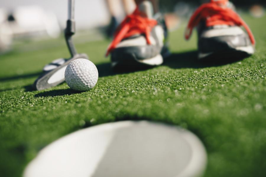 Half Price Mini Golf at Malibu Jack's