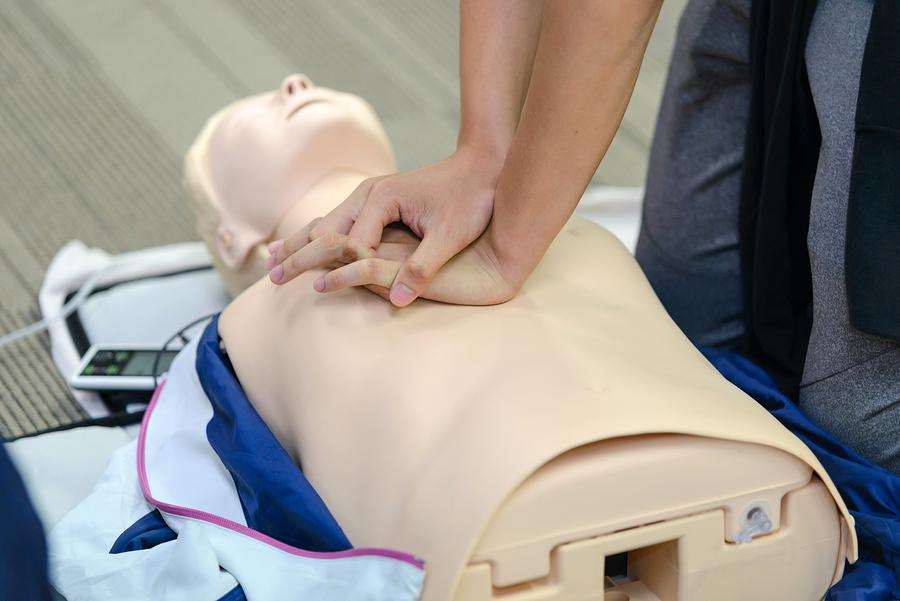 Heartsaver CPR Class at Louisville Fire Department