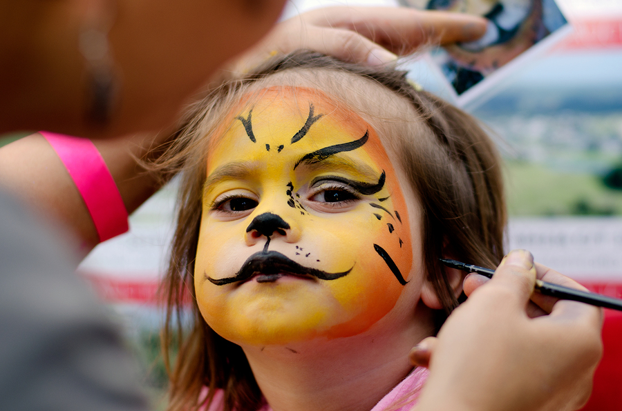 Highlands Festival Face Painting