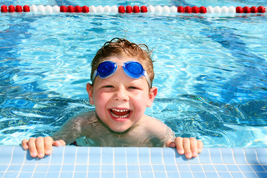 Kid in Pool