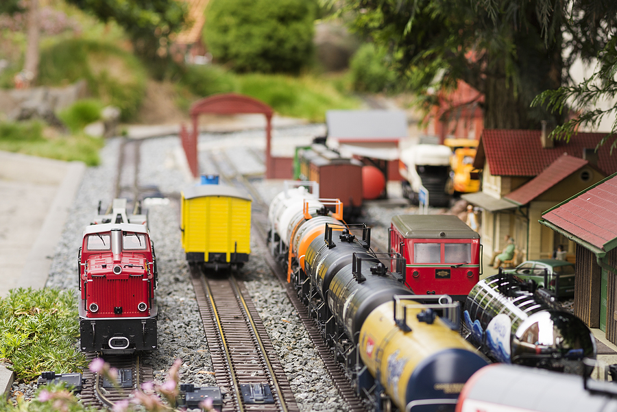 Model Train Show at the Fern Creek Library