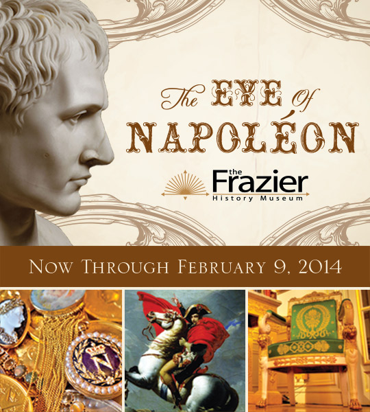 Napoleon Bonaparte at the Frazier History Museum