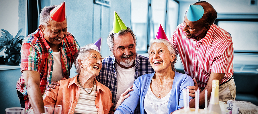 Party for Seniors at the Beechmont Community Center