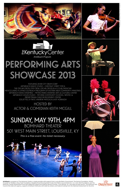 Performing Arts Showcase 2013