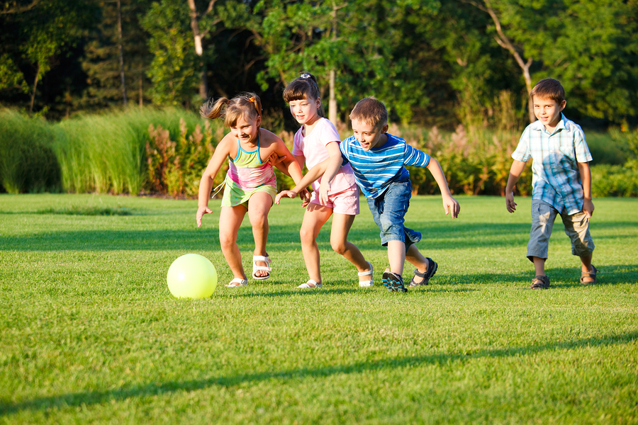Preschool Sports and Games Jewish Community Center