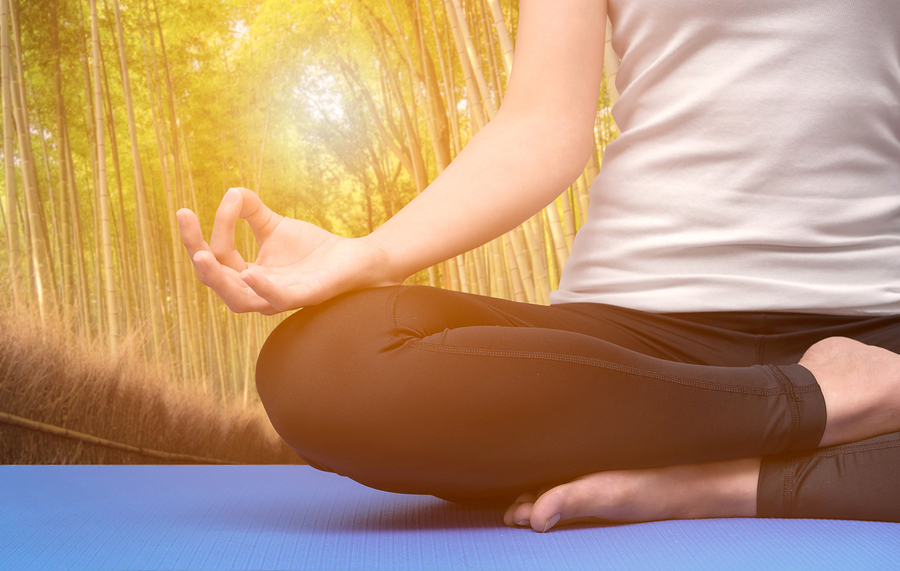 Restorative Yoga Session at Your Yoga
