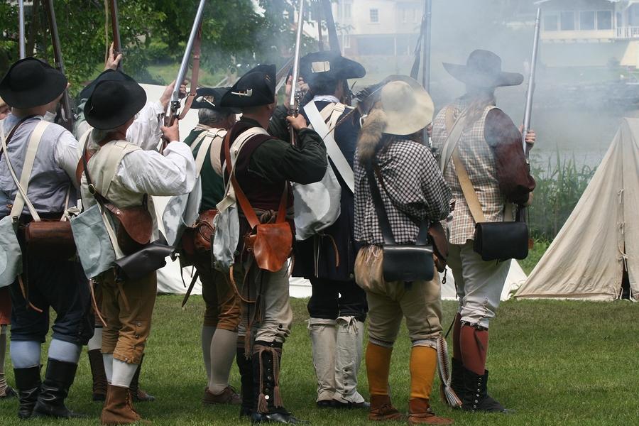 Revolutionary War Re-Enactment Locust Grove