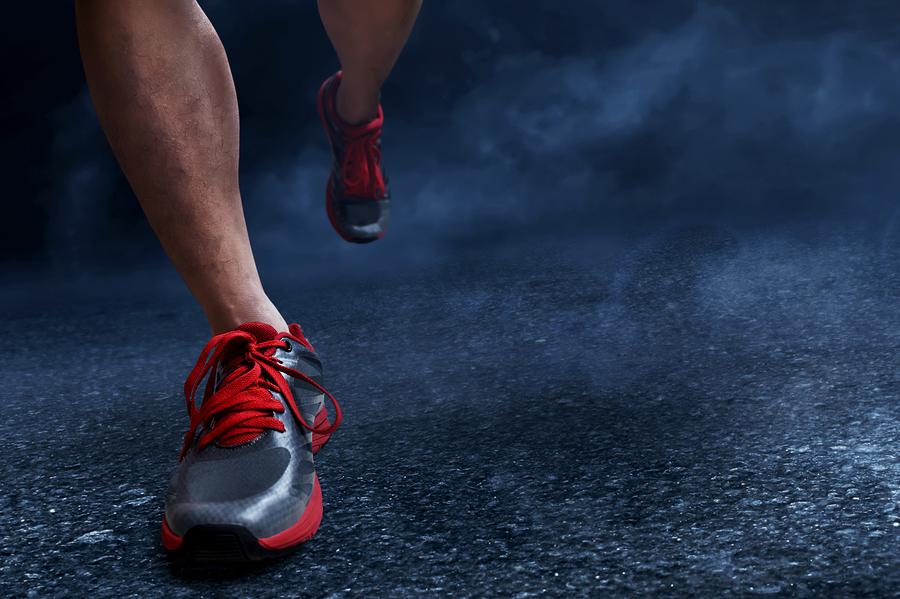 Runners Midnight Climb Iroquois Park