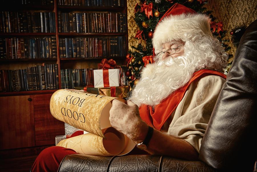 Santa at Paddock Shops