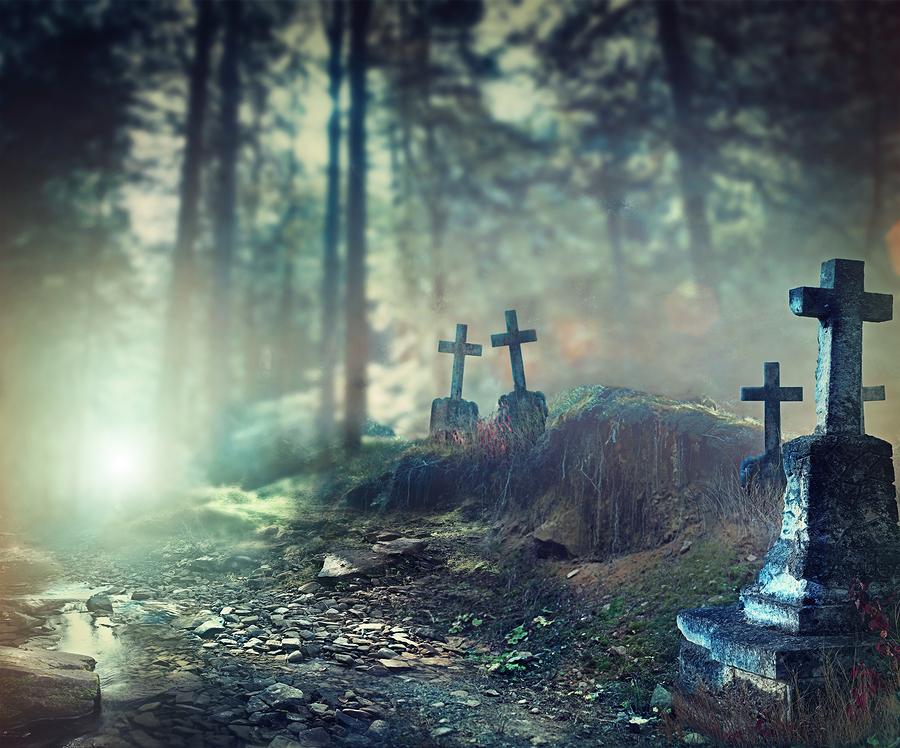Spooky Cemetery Tom Sawyer Park