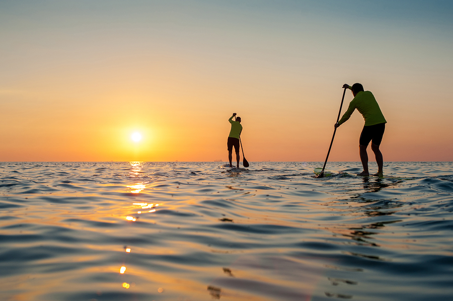 Stand Up Paddleboard with the Endless Summer Paddle Company